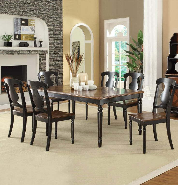 8 Best Our Dinning Room Sets Images On Pinterest  7 Piece Dining Cool Two Toned Dining Room Sets Design Ideas