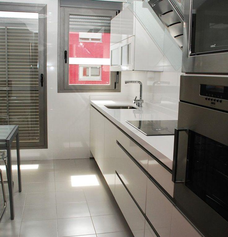 cocina con ventana sobre mesada - Buscar con Google