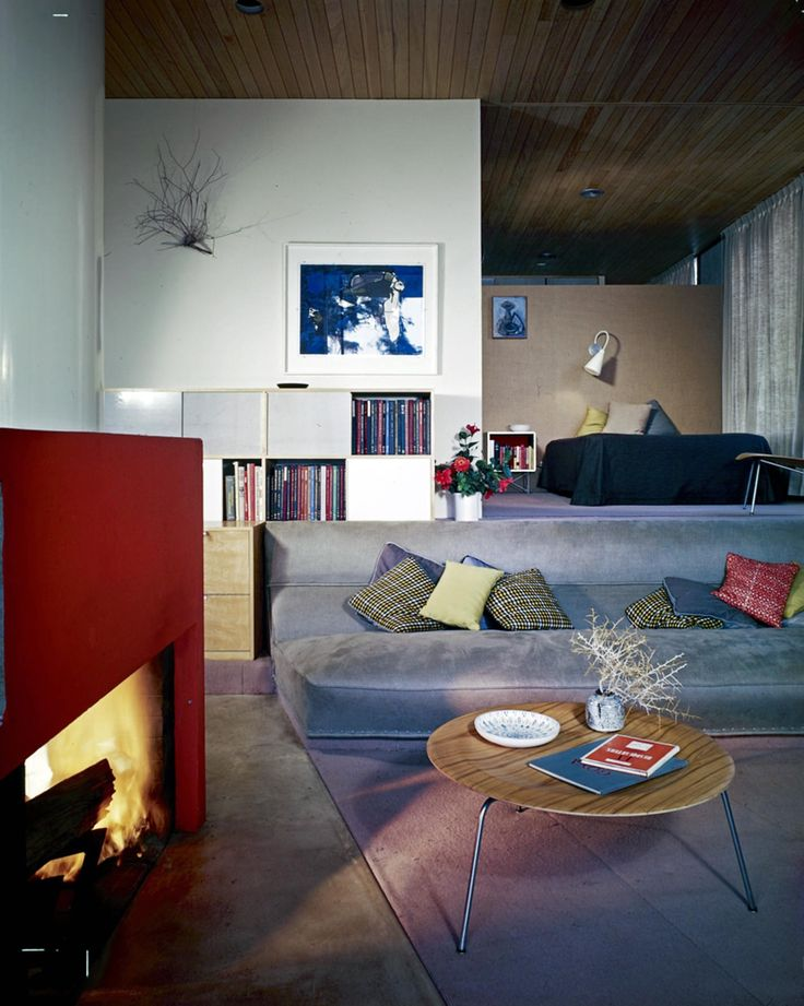 Image 4 Of 28 From Gallery AD Classics The Entenza House Case Study Charles Ray Eames Eero Saarinen Associates No