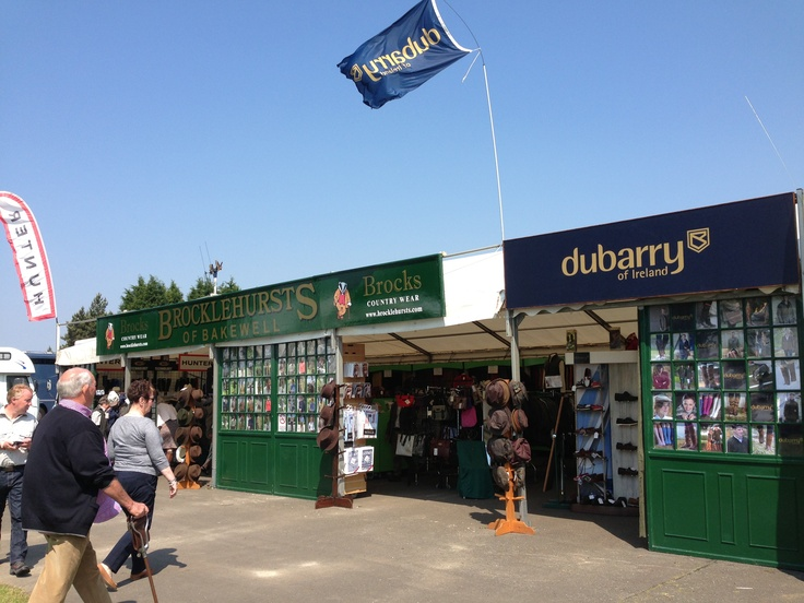 Open and ready at South of England Show