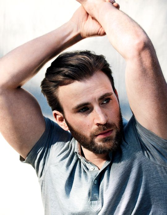 Chris Evans by Mark Segal for Esquire 2017