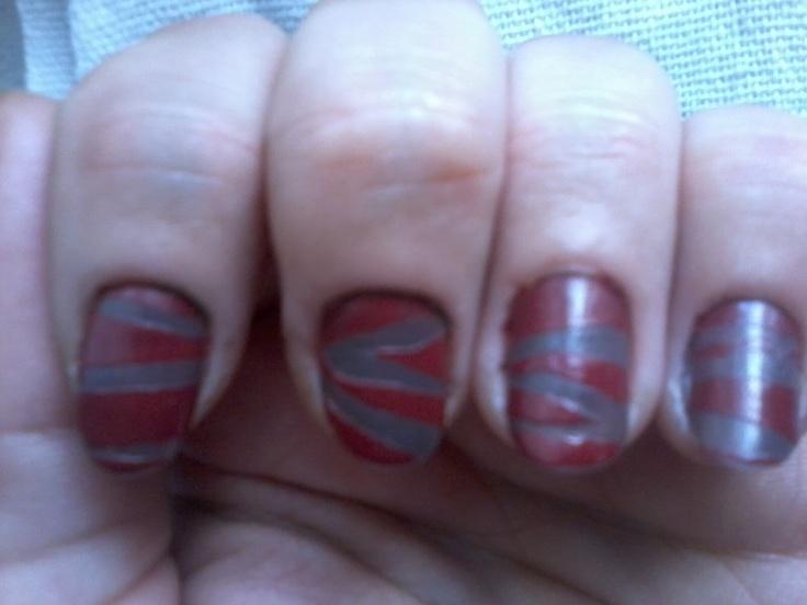 tiger stripes :)