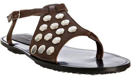 Marni Studded Thong Flat Sandals