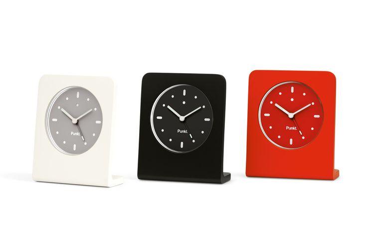 Clock alarm - delicje design - design, wystrój wnętrz, dekoracje, meble: Budzik Punkt. AC 01
