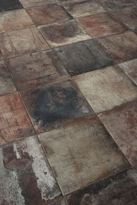 The Terre Nuove collection by Sant'Agostino gives a new an unexpected twist to classic Cotto tiles. #Cersaie2015