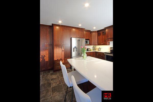 Contemporary kitchen.  www.mrkitchens.ca