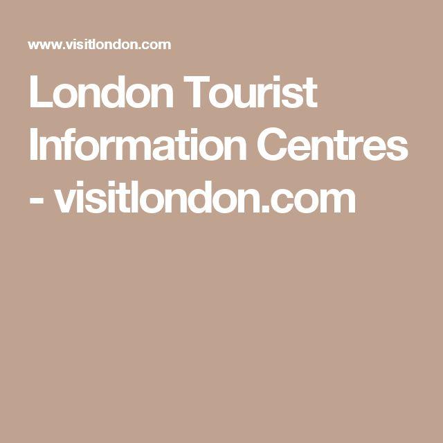 London Tourist Information Centres - visitlondon.com