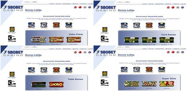 Inilah panduan awal tentang cara bermain casino online classic games di Sbobet! Panduan ini kami berikan untuk anda yang ingin bermain permainan casino yang ada di situs Sbobet.com. Permainan judi …