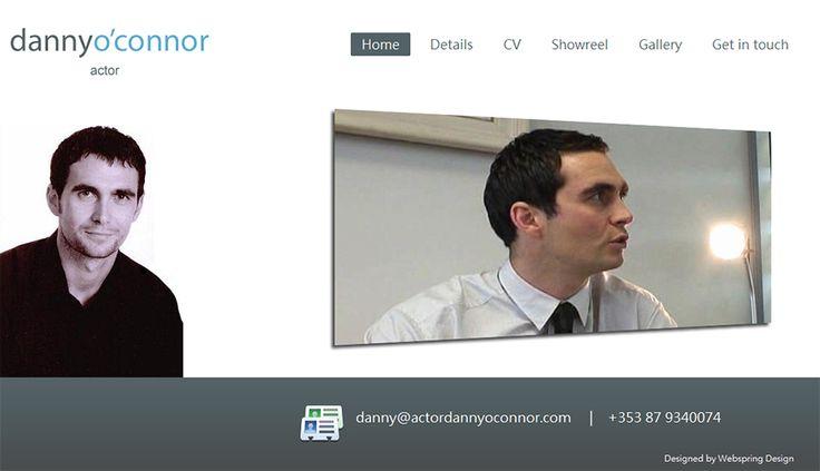 Danny O'Connor Actor Website