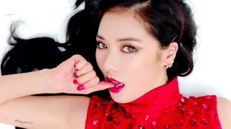 Hyuna's song Red may not be my favorite, but her music video is a standout.