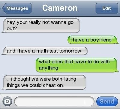 funny text message cheating boyfriend test . --- Avoid Cheating! Click the photo to learn how...