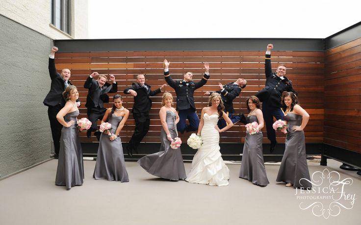 grey and blue wedding decor | Army grey pink wedding 02 1024x641 An Army Wedding Mallory Joel