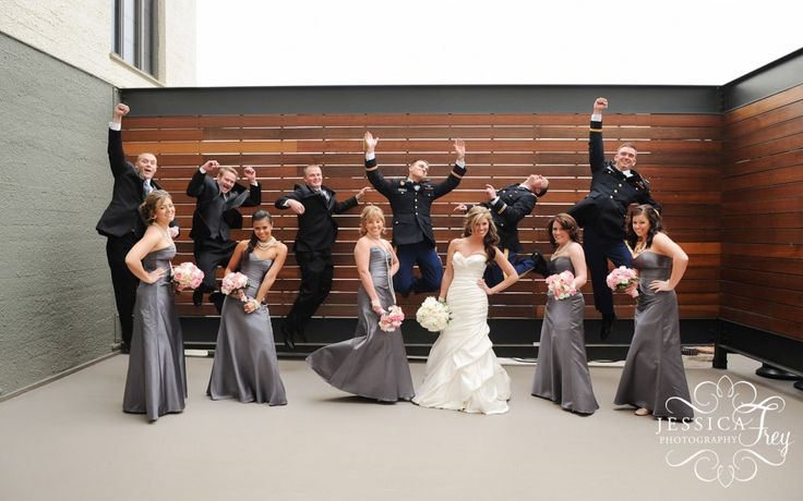 grey and blue wedding decor | Army grey pink wedding 02 1024x641 An Army Wedding Mallory Joel