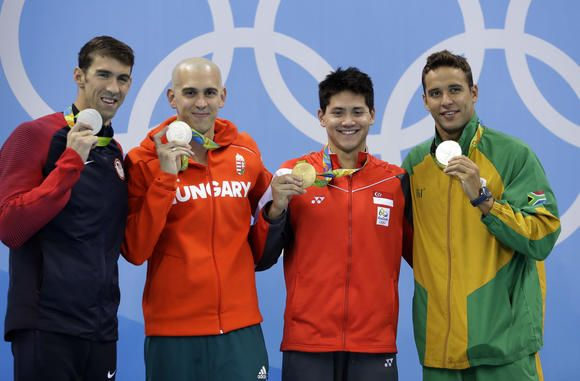 Singapore moved by its first Olympic gold as advertisers pounce on golden…