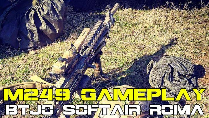 M249 AIRSOFT GAMEPLAY - BTJO SOFTAIR ROMA - MILSIM