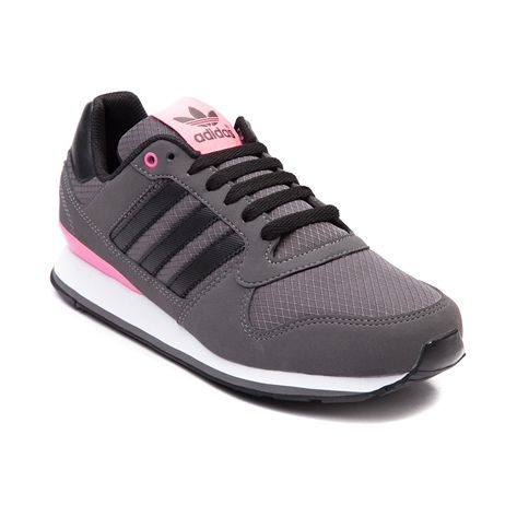 Shop for Womens adidas ZXZ WLB 2.0 Athletic Shoe in Gray Black at Journeys Shoes. Shop today for the hottest brands in mens shoes and womens shoes at Journeys.com.Sporty-cute sneaker classic with that springtime color pop! The adidas ZXZ WLB 2.0 rocks a synthetic upper complete with a color accented midsole and tongue logo, lightweight EVA midsole cushioning, padded collar and tongue, and gripping rubber traction outsole. Available exclusively at Journeys!