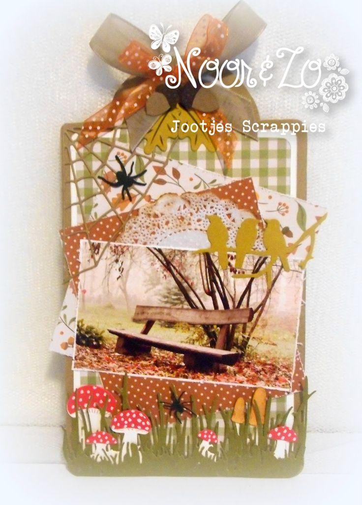 Goedenmorgen allemaal Vandaag heb ik voor jullie een kaartje in herfst tinten gemaakt met de Shape Art Label 470.713.125 Terwijl ik...