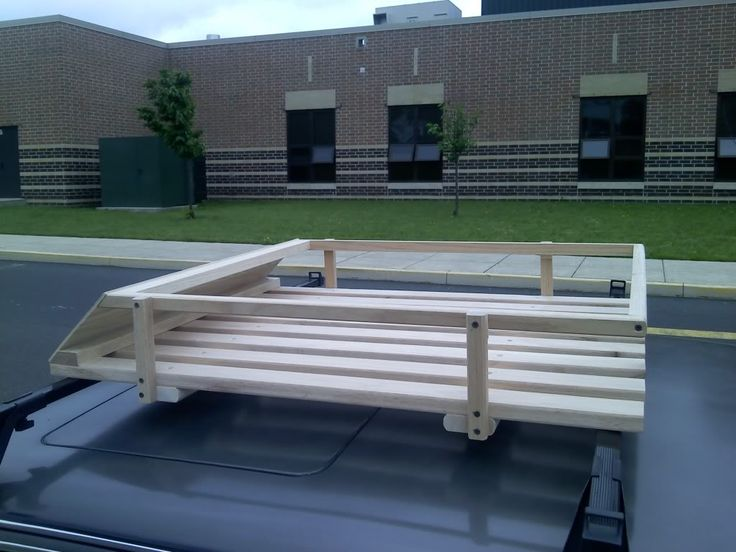 any interest in a custom roof basket? - Mercedes-Benz Forum