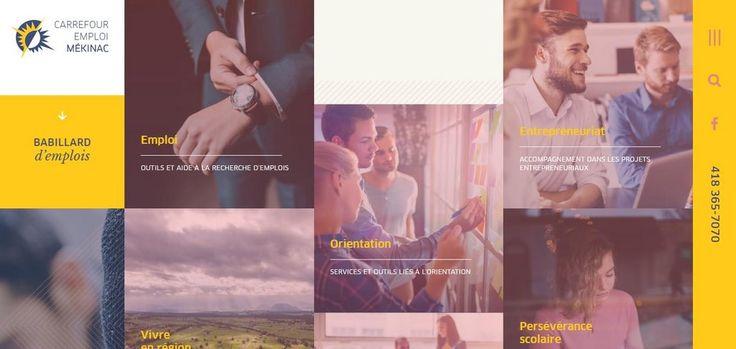 Carrefour Emploi Mékinac | Web Design Inspiration #ux #ui #interface #animation #interaction #userexperience #dribbble #behance #design #uitrends #instaui #magazineduwebdesign #interface #mobile #application #webdesign #app #concept #userinterface #inspiration #appdesign