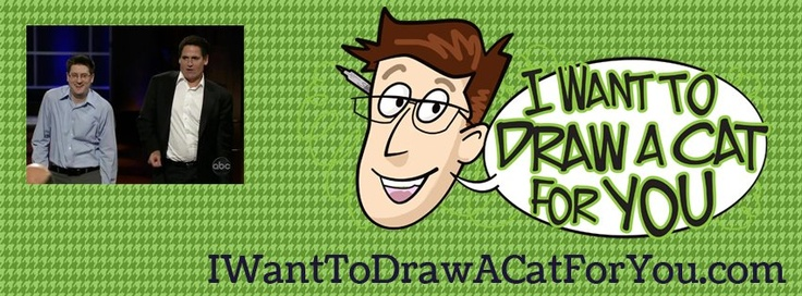 I want to draw a cat for you!