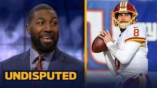 Greg Jennings on reports Kirk Cousins is expected to sign deal with Minnesota Vikings   UNDISPUTED