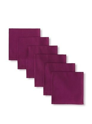 44% OFF Garnier-Thiebaut Set of 6 Confetti Napkins, Violette, 18