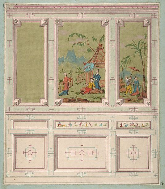Designs For Wall Panels By Jules Edmond Charles LaChaise