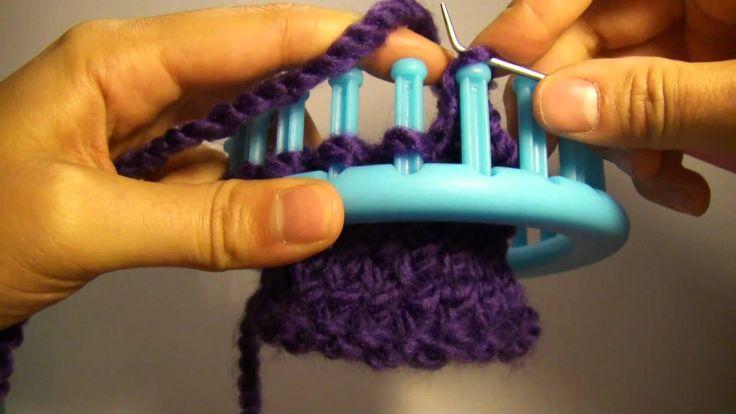 "Knitting Loom (Strickring) - ""Abstricken"" - flexibler Abschluss (auch fü..."
