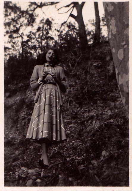 Vintage Fashion – Teenager der 1950er Jahre mit ihren Doo Wop-Kleidern – frauen mode
