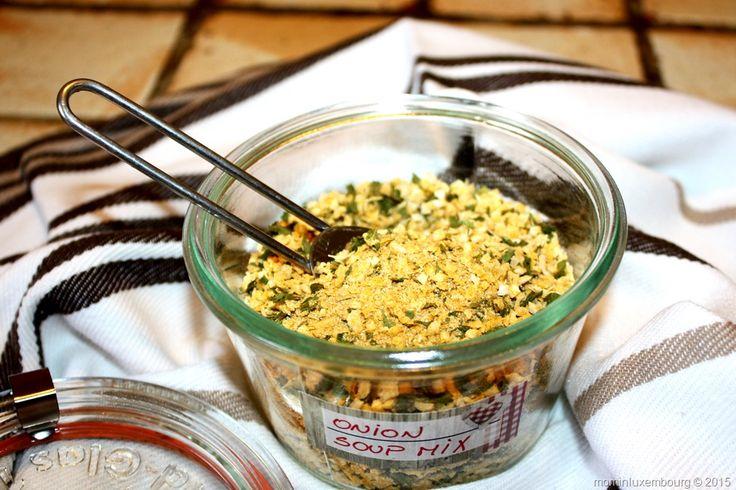 Zelfgemaakte uiensoep mix vervanger. | Ona Pona's keukenavonturen !