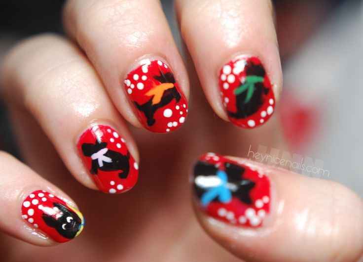 69 best doggy nail art images on pinterest nail designs love scottie dog nails xx prinsesfo Gallery