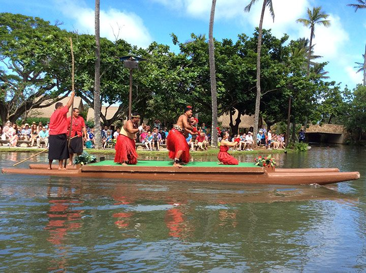 A day at the Polynesian Cultural Center