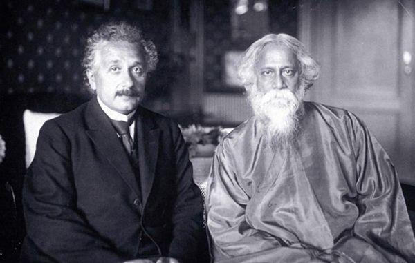 Albert Einstein in Conversation with Rabindranath Tagore: 'EINSTEIN: Do you believe in the divine isolated from the world?http://www.mindpodnetwork.com/albert-einstein-rabindranath-tagore-nature-reality/