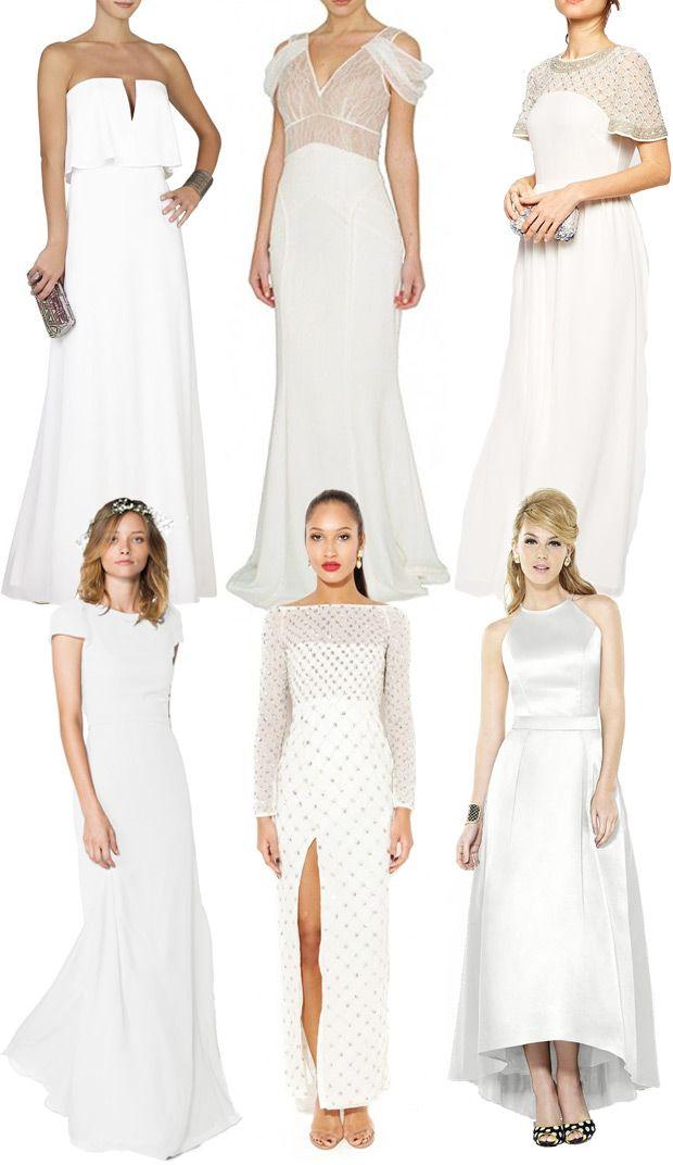 78 best White Bridesmaid Dresses images on Pinterest | Bridesmaids ...