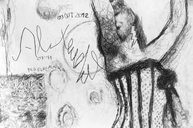 Alexandre Moreira, 2012 / Grafite s/ papel Canson / 96x66cm / 6x R$333