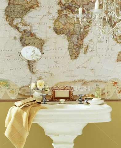 16 best maps on display images on pinterest wall maps cards and national geographic world map bathroom wallpaper gumiabroncs Gallery