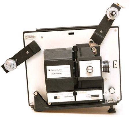 projectors for sale image moving reel to reel 8mm super8   ... & Howell 471 Dual 8mm - Reg 8mm / Super 8mm AutoLoad Movie Projector