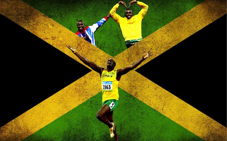 Sports flags jamaica athletes usain bolt jamaican (1920x1200, flags, jamaica, athletes, usain, bolt)  via www.allwallpaper.in