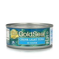 Gold Seal canned Light Tuna is 100% dolphin-friendly Skipjack tuna, the most populous of all the tuna species. Be sure to visit us on Facebook at https://www.facebook.com/goldseal