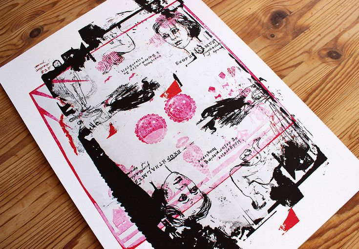 LoFi Silkprint #1 - Poster by LBP | WOLLAWONKA