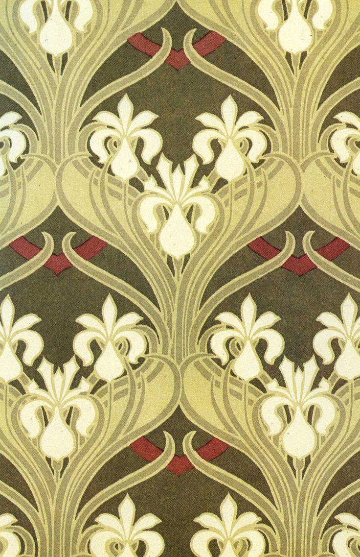 132 best art nouveau stencils, floral patterns images on Pinterest ...