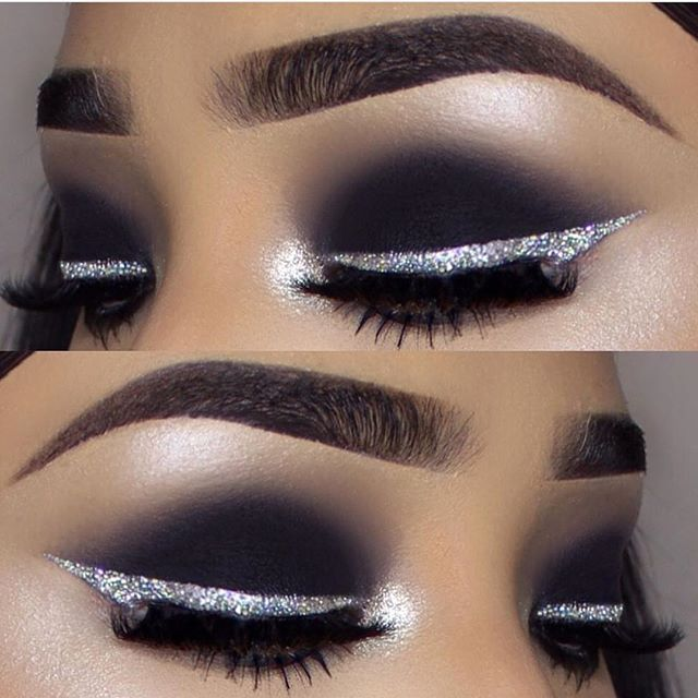 VINTAGE CHIC FOR THE EYELINER AVAILABLE IN LOOSE GLITTER OR PRESSED HIGHLIGHTERNOW ON SALEPLUS GET 15% OFF CODE: 15letmeglowmakeup by @vemakeup713