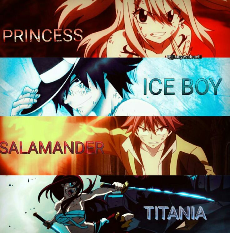 I think Natsu is the only one okay with his nickname.