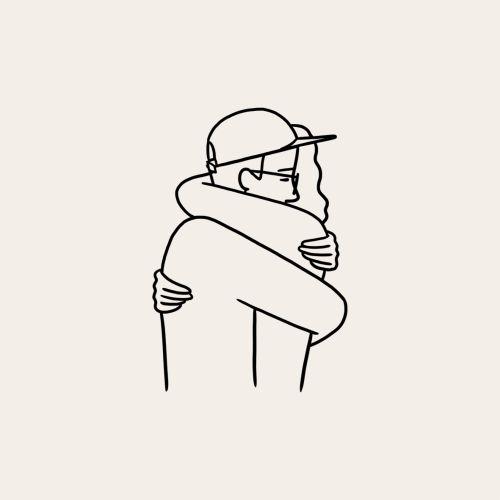 Me dá um abraço, pÔ!