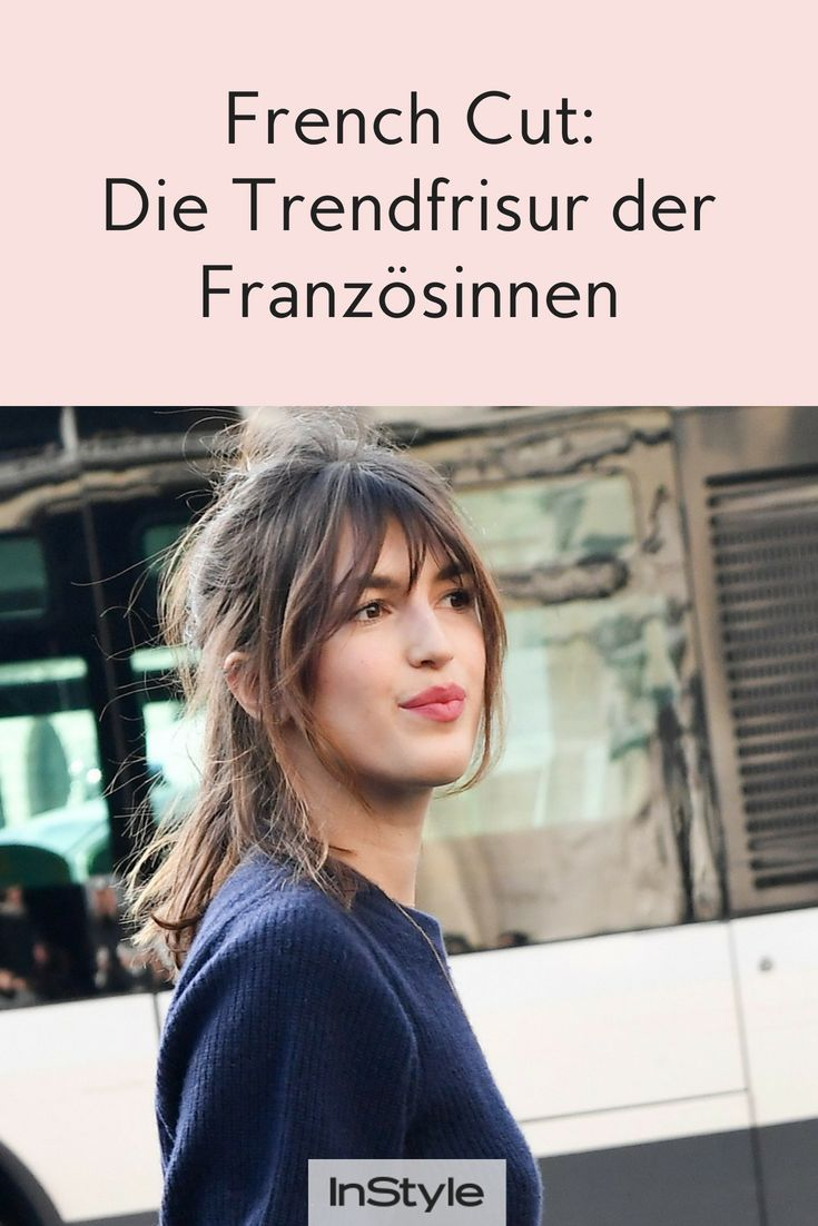 French Cut: The trend hairstyle of French women fits any face shape