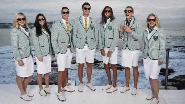 Australian Olympic uniforms 2016: Photos reveal what our athletes will wear at Rio opening ceremony