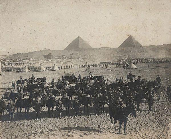 ANZAC Soldiers in Egypt | Retronaut