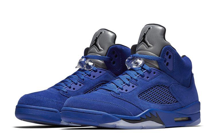 Release Date: Air Jordan 5 Retro 'Blue Suede' - EU Kicks: Sneaker Magazine