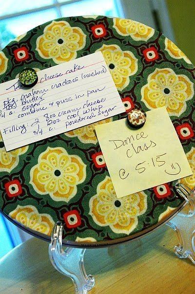 Herdabdeckplatten mit Decoupage by ilene