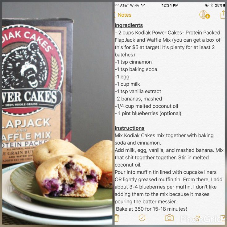 Kodiak Power Cakes Recipes Weight Watchers